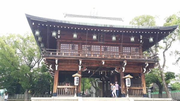 石切劔箭神社の絵馬殿