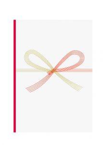 蝶結びの祝い袋