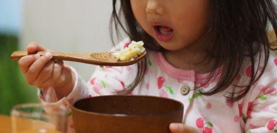 病気の子供の食事