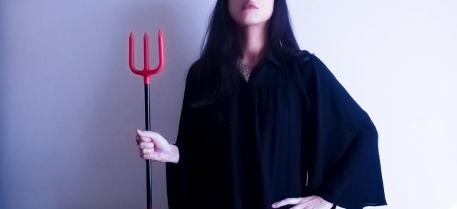 ハロウィン悪魔の仮装