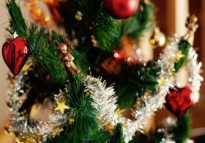 クリスマスツリーのモール
