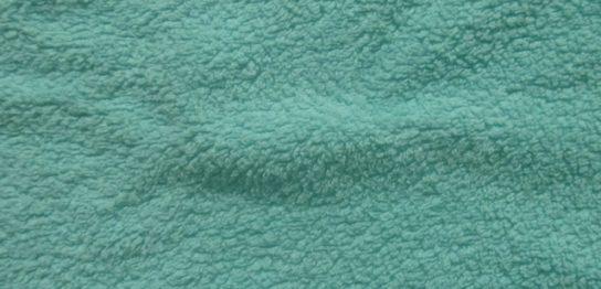 グリーンのタオル